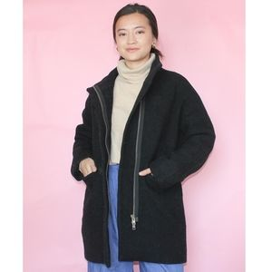 J Crew Stadium Cloth Cocoon Coat